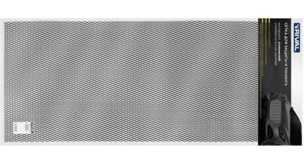 Универсальная сетка Rival 1000х500 H20 для защиты радиатора, черная, 1 шт. INDIV.ZS.2001.3