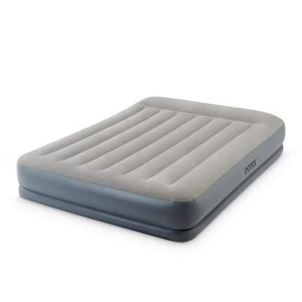 Надувная кровать Intex Queen Mid-Rise Airbed 64118
