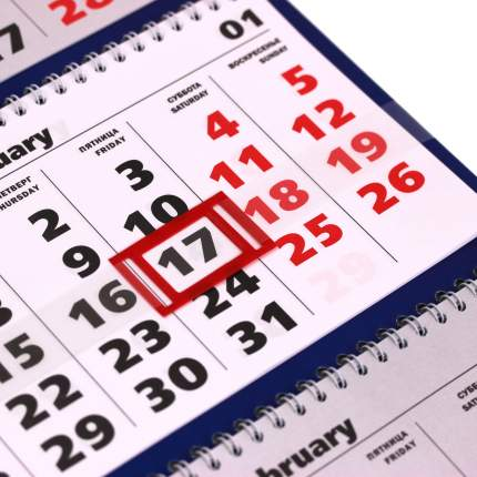 Календарь на 2021 год Listoff Символ года (квартальный на евроспирали) ККТ2103