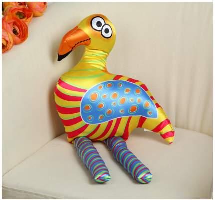 """Мягкая игрушка """"Фламинго"""", оранжевые полосы Sima-Land"""
