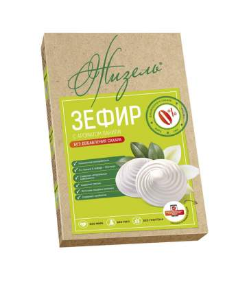 Зефир Жизель без сахара с ароматом ванили 160 г