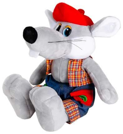 """Мягкая игрушка """"Мышонок в красной кепке"""" 26 см Sima-Land"""