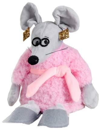 """Мягкая игрушка """"Мисс Мышка"""" в тапочках, 21 см Sima-Land"""