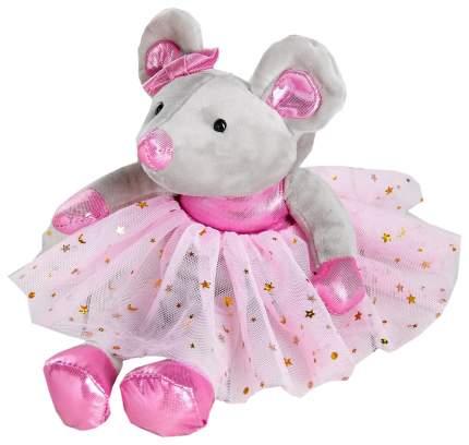 """Мягкая игрушка """"Мышка"""" юбочка со звёздами, 20 см Sima-Land"""
