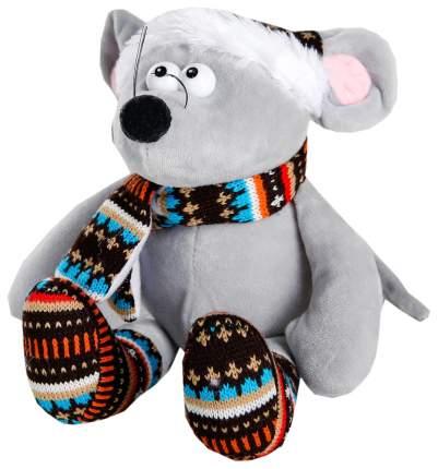 """Мягкая игрушка """"Мышонок"""" вязаные носочки, 20 см Sima-Land"""