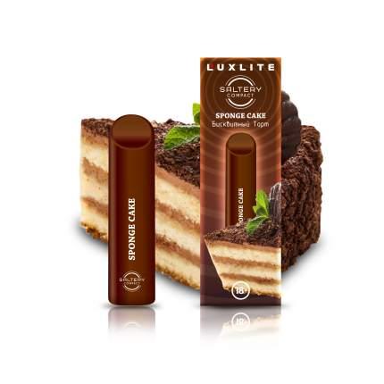 Luxlite Электронная сигарета Luxlite Saltery Compact со вкусом бисквитного торта