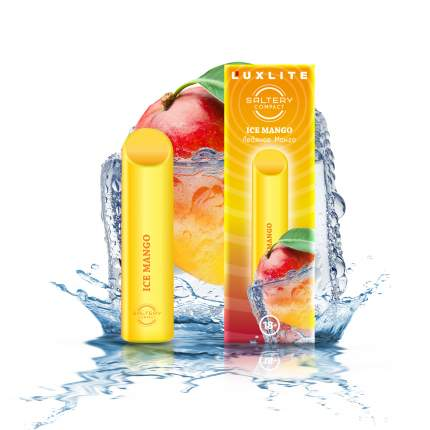 Электронная сигарета Luxlite Saltery Compact со вкусом манго и мяты
