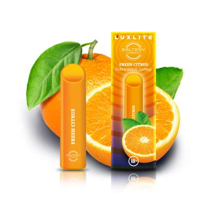 Luxlite Электронная сигарета Luxlite Saltery Compact со вкусом цитруса
