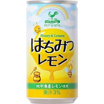 Напиток сокосодержащий Томинага мед и лимон 190 г