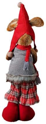 """Мягкая игрушка """"Мышка"""" в красном шарфе Sima-Land"""