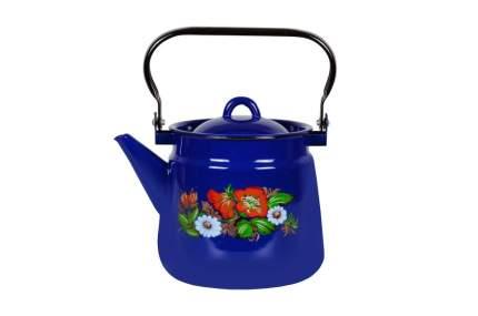 Чайник эмалированный 3,5л Шиповник  1с26с/ш, в ассортименте