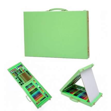 Набор для рисования Super Mega Art Set green в кейсе, 98 предметов