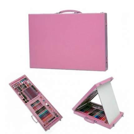 Набор для рисования Super Mega Art Set pink в кейсе, 98 предметов