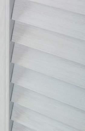 Ширма перегородка жалюзийная складная, пластиковая, ясень серый, 181х160 см
