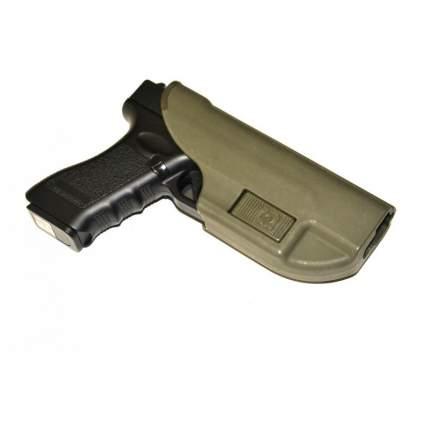 Кобура Альфа для Glock (Stich Profi) на MOLLE (Olive)