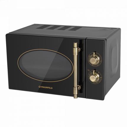 Микроволновая печь соло MAUNFELD JFSMO.20.5.GRBG Black/Gold