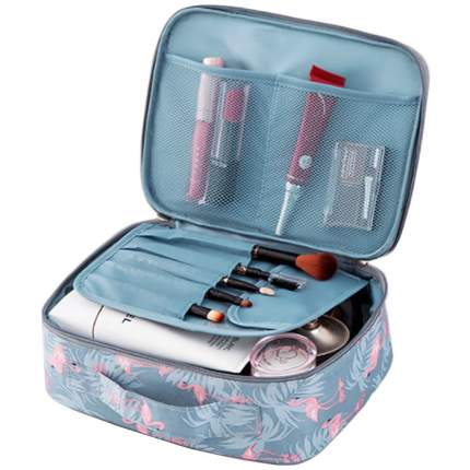 """Органайзер для перевозки косметики Home Comfort """"Travel Bag"""" бирюзовый"""