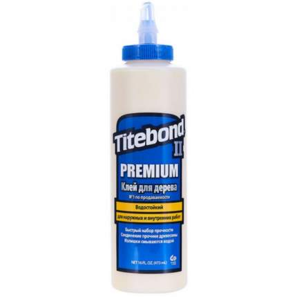 Клей TITEBOND D3 Premium столярный влагостойкий 473 мл синий
