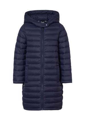 Пальто для девочек OLDOS ASS202T1JK33 цв. синий р.116