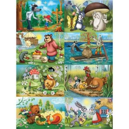 Пазл Castorland Русские сказки, 54 элемента, в ассортименте