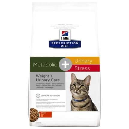 Сухой корм для кошек Hill's Prescription Diet Metabolic + Urinary Stress, курица, 1,5кг