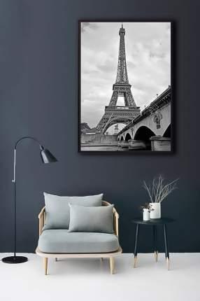 Постер в рамке Мост и Эйфелева башня 21х30 см