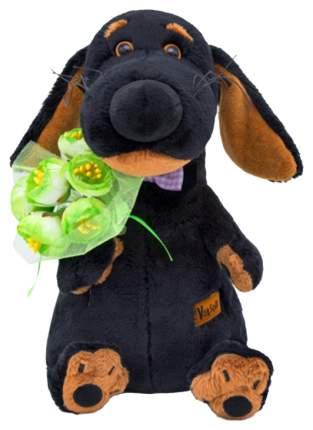 Мягкая игрушка «Ваксон» с букетом, 25 см Басик и Ко