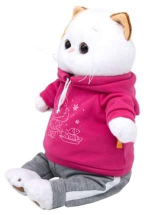 Мягкая игрушка BUDI BASA Кошечка Ли-Ли в спортивном костюме, 27 см
