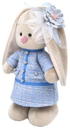 Мягкая игрушка «Зайка Ми» в голубом платье в клетку, 25 см Зайка Ми