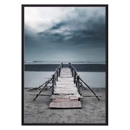 Постер в рамке Старый мост 40х60 см