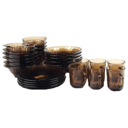 Набор 30 предметов Elica ГЛАСС ИНК ООО 62106 Прозрачный, коричневый