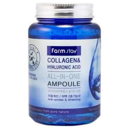 Сыворотка для лица FarmStay All-In-One Collagen&Hyaluronic Ampoule 250 мл