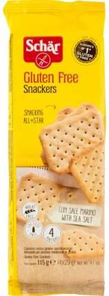 Крекеры Schar snackers без глютена 115 г