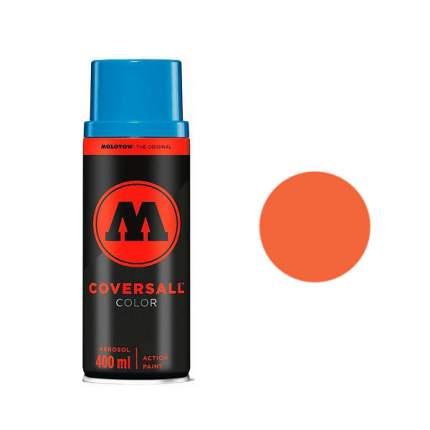 Аэрозольная краска Molotow Coversall Color 400 мл DARE orange H.O. оранжевая