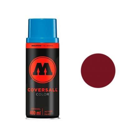 Аэрозольная краска Molotow Coversall Color 400 мл burgundy h.o. бордовая