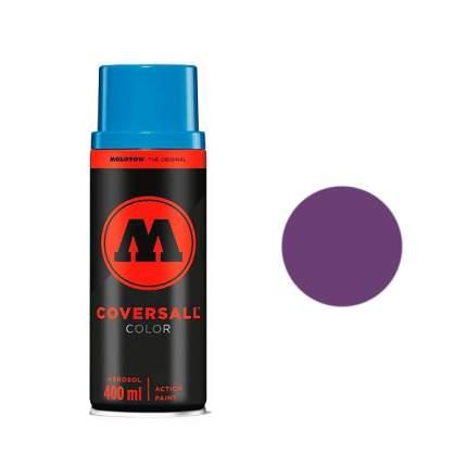 Аэрозольная краска Molotow Coversall Color 400 мл blackberry фиолетовая