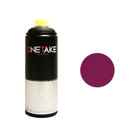 Аэрозольная краска One Take 400 мл фиолетовый
