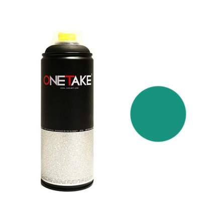 Аэрозольная краска One Take 400 мл зеленая