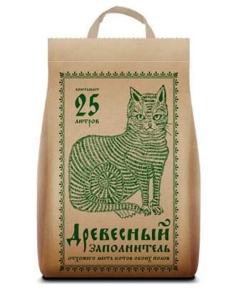 Наполнитель для кошачьего туалета Pi-Pi Bent древесный, впитывающий, 25л, 9,32кг