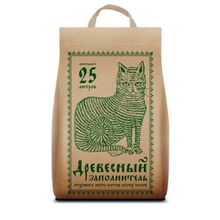 Впитывающий наполнитель для кошек Pi-Pi Bent древесный, 9.32 кг, 25 л