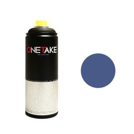 Аэрозольная краска One Take 400 мл синяя