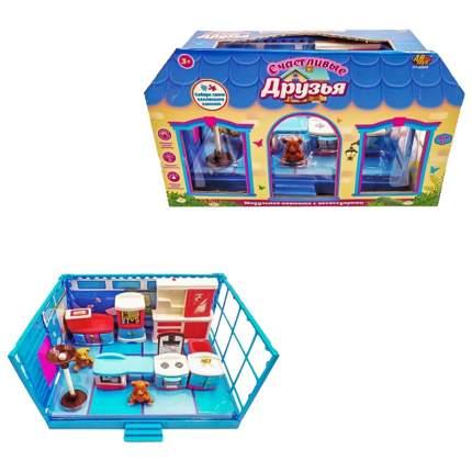 """Игровой набор Abtoys """"Счастливые друзья: Кухня"""" 12 пред."""
