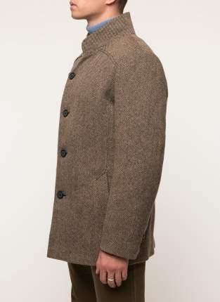 Пальто мужское Misteks 1932(Виктор-Тж) коричневое 44 RU