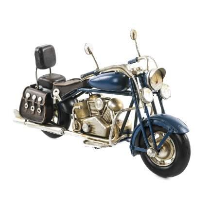 Декоративная модель Мотоцикла — Байка, сувенир,  26х15х10 см, Металл, 26003