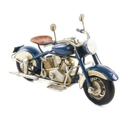 Декоративная модель Мотоцикла — Байка, сувенир, 20х12х7 см, Металл, 26004