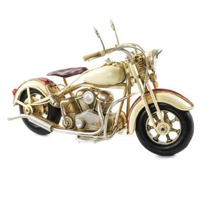 Декоративная модель Мотоцикла — Байка, сувенир,  20х13х9 см, Металл, 26005