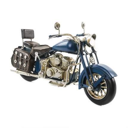 Декоративная модель Мотоцикла — Байка, сувенир, 19х10х8 см, Металл, 26006