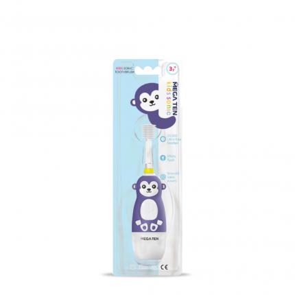 Электрическая зубная щетка Megaten Kids Sonic Обезьянка