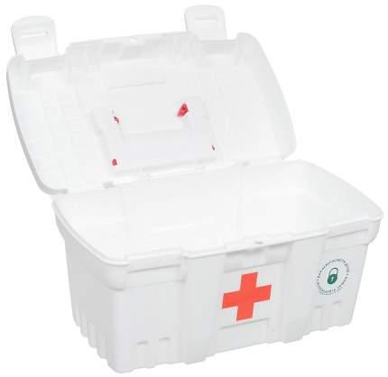 Аптечка Скорая Помощь пластик BranQ белая Br3749