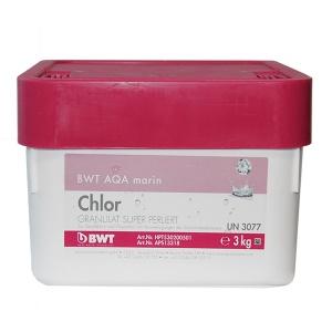 Дезинфицирующее средство для бассейна BWT AQA marin Chlor Granulat 3 кг